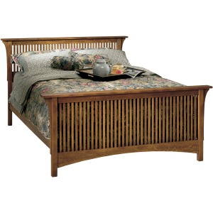 Spindle Bed, Queen - HB