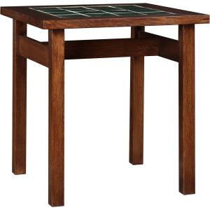 Tile Top End Table - Oak