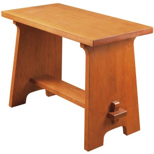 Gustav Stickley Fireside Stool - Oak