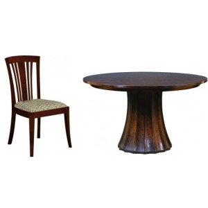 Metropolitan 5 PC Dining Set - Cherry