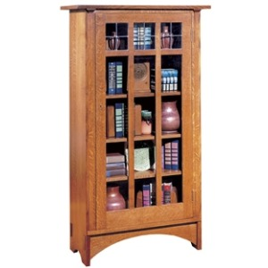 Single Door Bookcase