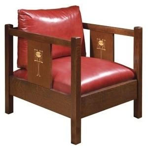 Harvey Ellis Cube Chair