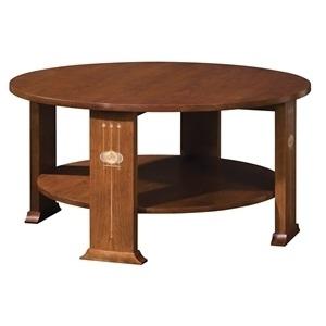 Harvey Ellis Round Cocktail Table