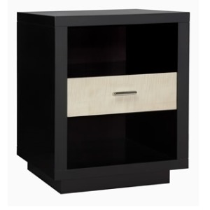 NARROW SINGLE DRAWER NIGHT STAND