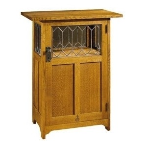 Lighted Chafing Dish Cabinet