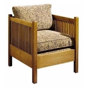 Loose Cushion Cube Chair