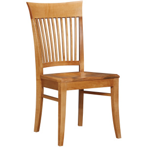 Provincetown Side Chair w/Wood Seat
