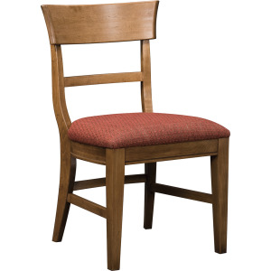 Winchester Lodge Side Chair w/Leather Seat