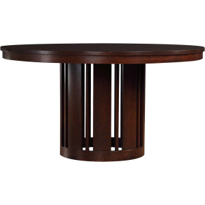 "Park Slope 48"" Round Dining Table - Oak"
