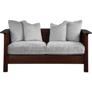 Park Slope Loveseat - Oak