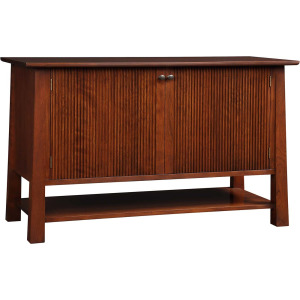 Park Slope Entertainment Console - Oak