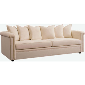 "Chicago 75"" Leather Small Arm Sofa"