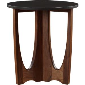 Walnut Grove Drink Table w/Wood Top