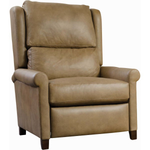 Woodlands Sock Arm Leather Recliner