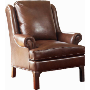 Pinehurst Wing Chair - Leather