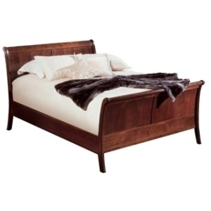 Panel Sleigh Bed King - HB
