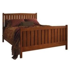 Slat Bed Queen - HB