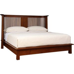 Park Slope King Platform Bed - Oak