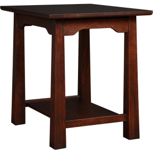 Park Slope End Table - Oak