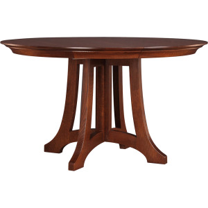 Highlands Round Dining Table - Oak