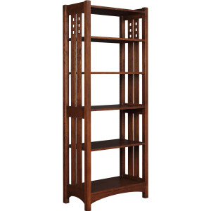 Highlands Etagere - Oak