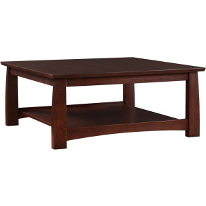 Highlands Square Cocktail Table - Oak
