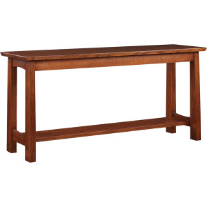 Highlands Console Table - Oak