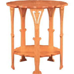 Grand Poppy Table - Cherry