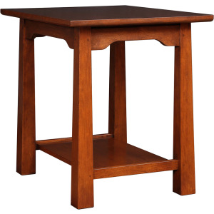 Park Slope End Table - Cherry