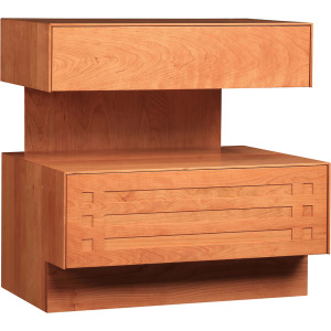 Glasgow Night Stand - Oak