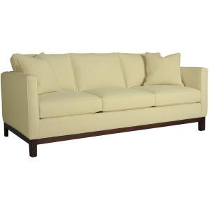 "Michigan Ave. 82"" Sofa- Leather"