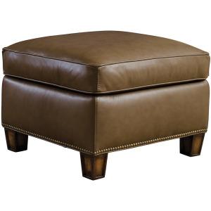 Edmonton Ottoman - Upholstered