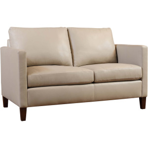 Lakewood Leather Loveseat