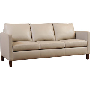 "Lakewood 82"" Leather Sofa"