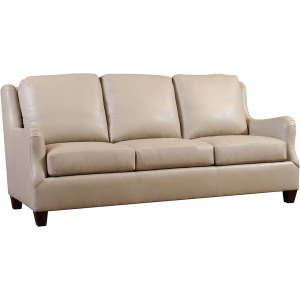 "Copperfield 81"" Leather Sofa"