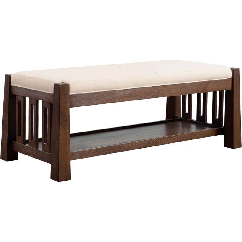 Highlands Bench Oak By Stickley Furniture 89 951 Willis