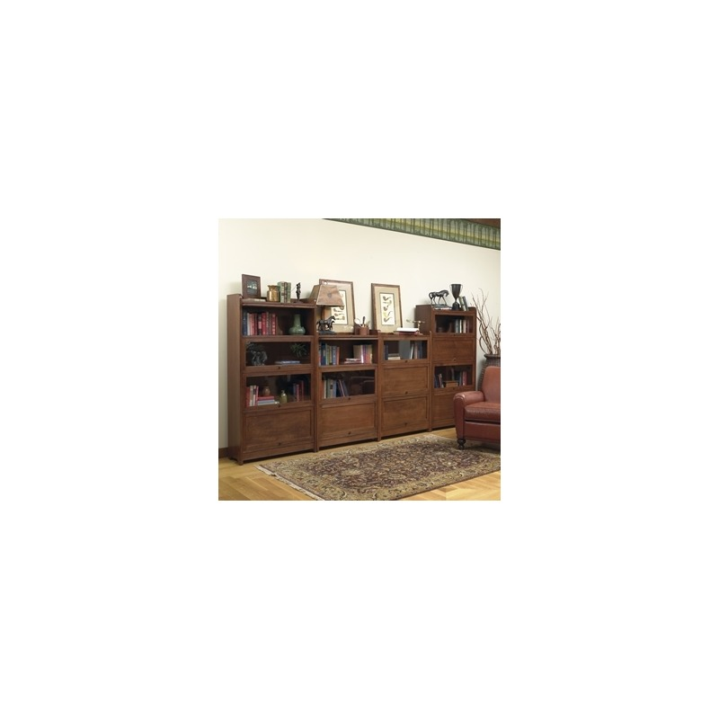 Four High Barrister Bookcase