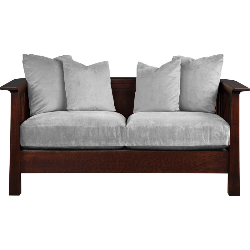 Park Slope Loveseat - Cherry