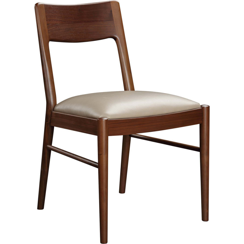 Walnut Grove Side Chair - Salvador Dove Leather