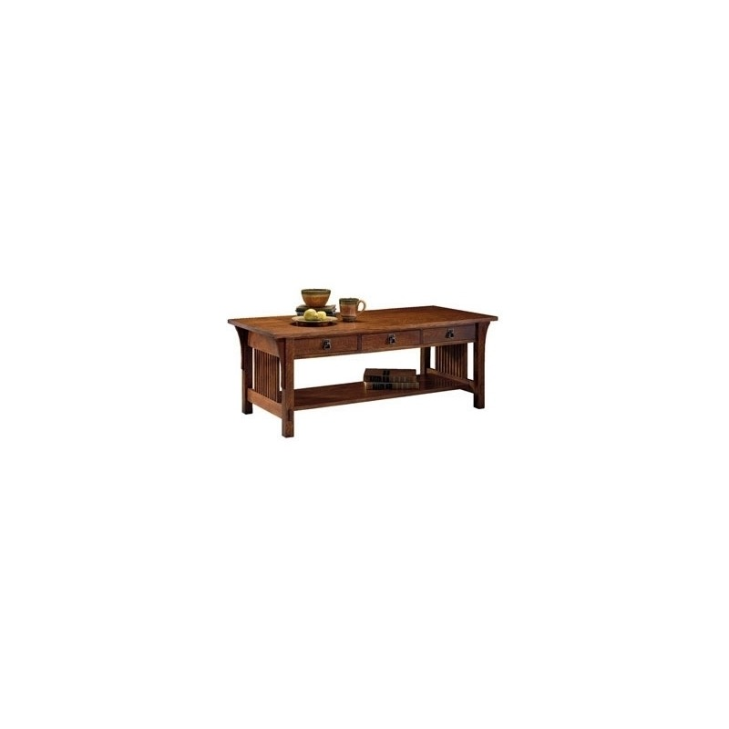 Three Drawer Cocktail Table
