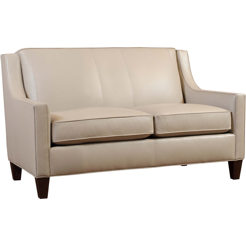 "Seabrook 58"" Leather Loveseat"