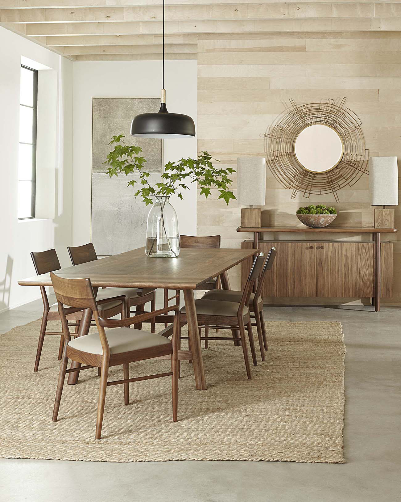 Walnut Grove Dining Table By Stickley Furniture 894141 Willis Furniture Mattress