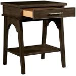 Chelsea Square Bedside Table - Rasin