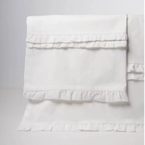 Clementine Court - Petite Ruffle Sheet Set - Twin