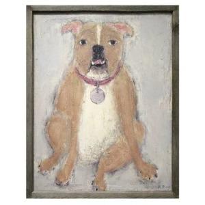Teaberry Lane - Bulldog Wall Art