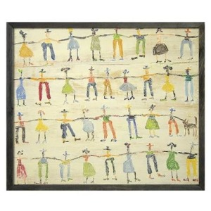 Teaberry Lane - Little People Wall Art