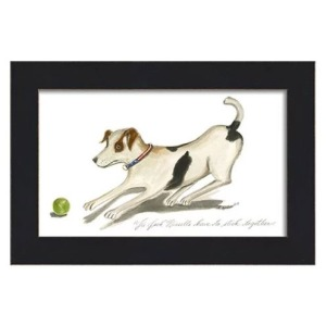 Teaberry Lane - Jack Russell and Ball Wall Art