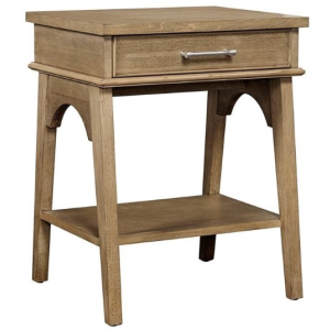 CHELSEA SQUARE - BEDSIDE TABLE - FRENCH TOAST