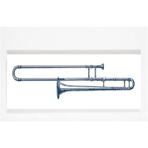 Chelsea Square - Trombone Wall Art