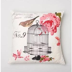 Clementine Court - Birdcage Pillow